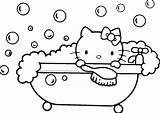 Coloring Bath Adults sketch template