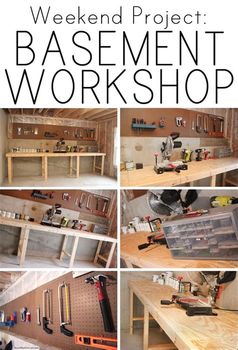 weekend project basement workshop   nest