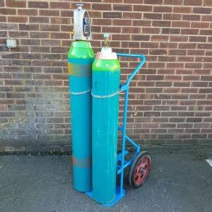 twin gas cylinder trolley