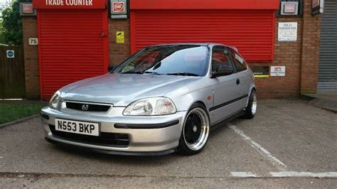 Modified Civic Ej9 For Sale by 96 Honda Civic Ej9 Silver Mar 2019 Mot Modified Lowered
