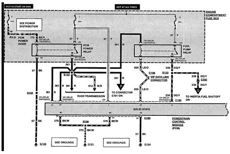 Wiring Diagram For 1993 Ford F 350 by I A 1993 Ford F350 With A Fuel Injected 460 It