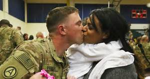 Emotional homecoming at JBLM comes amid upswing in U.S ...