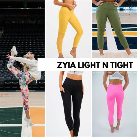 zyia active leggings wear pants workout compression bras activewear tight