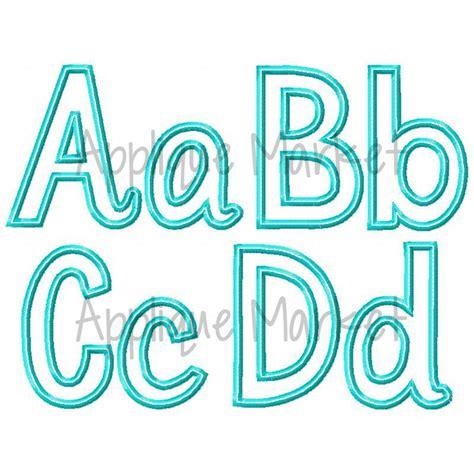 morgan applique alphabet fabric design