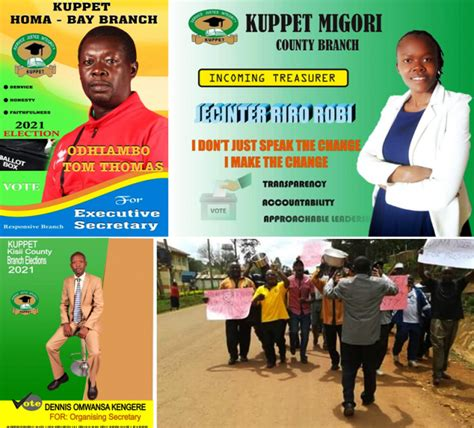 Polling stations are now closed. KUPPET elections 2021: Heated campaigns as aspirants eye ...