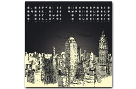 tableau new york by 80x80 cm tableaux villes pas cher