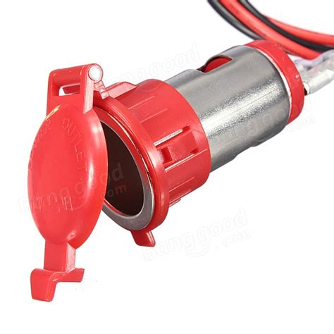 Car Motorcycle Tractor Cigarette Lighter Power Socket Plug