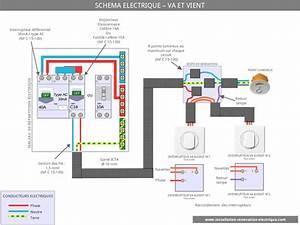 Schema va et vient le schema electrique du va et vient for Quelle couleur avec le bleu 7 schema electrique le raccordement de 3 interrupteurs va