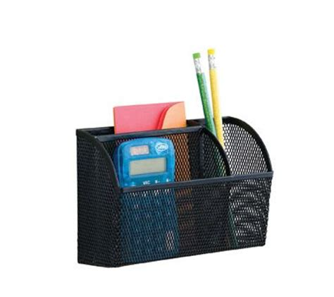 Neat Life Mesh Magnet Organizer, Black   Office Concepts ...