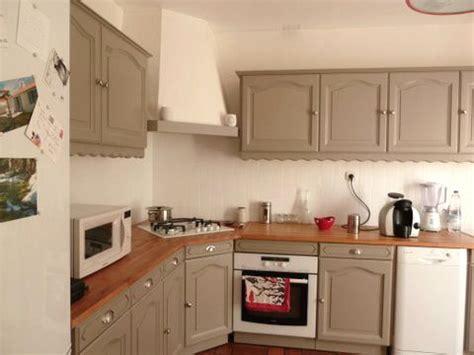 repeindre ses meubles de cuisine en bois rajeunir la cuisine