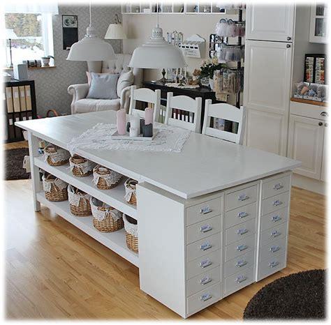 Craft Table Idea  Cuartos De Costura Y Oficina 2