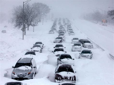 Chicago Blizzard Snow Storm