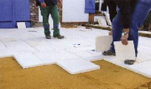 Pose Dalle Beton Sur Sable : poser du carrelage sur une dalle beton ~ Nature-et-papiers.com Idées de Décoration