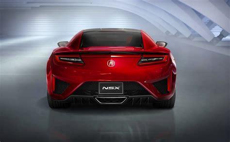 2018 Honda Nsx Production Version Unveiled Performancedrive