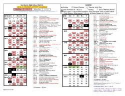 redwhite calendar released san benito high school