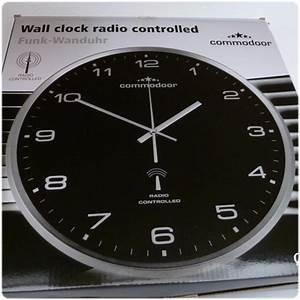 Funk Wanduhr Küche : commodoor funk wanduhr k che k chenuhr funkuhr quartz 33 cm neu radio controlled ebay ~ Indierocktalk.com Haus und Dekorationen