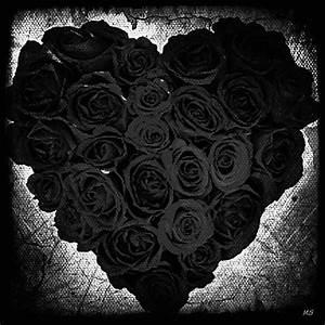 Gothic Romance - Black Roses Digital Art by Absinthe Art ...