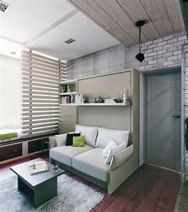 Aménagement Petit Appartement : int rieur et design petit espace 61 id es pour la d co ~ Nature-et-papiers.com Idées de Décoration