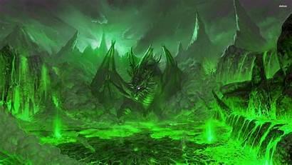 Dragon Wallpapers Fantasy Volcano