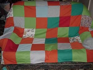 scrap fleece quilt sewing projects burdastyle