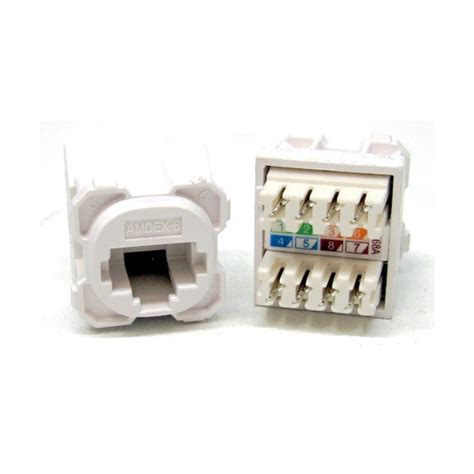 wall plate cat  rj insertsmechs network data wall
