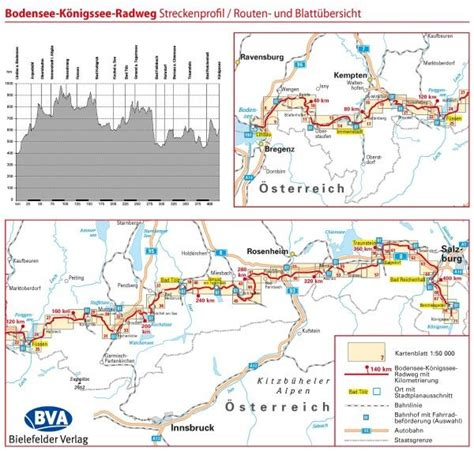 Bodensee Königssee Radweg Karte
