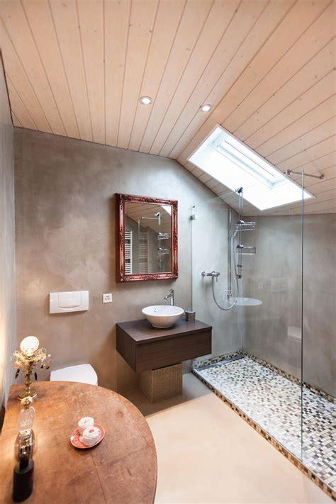 Béton ciré pour sol, salle de bain, cuisine, mur ? Marius