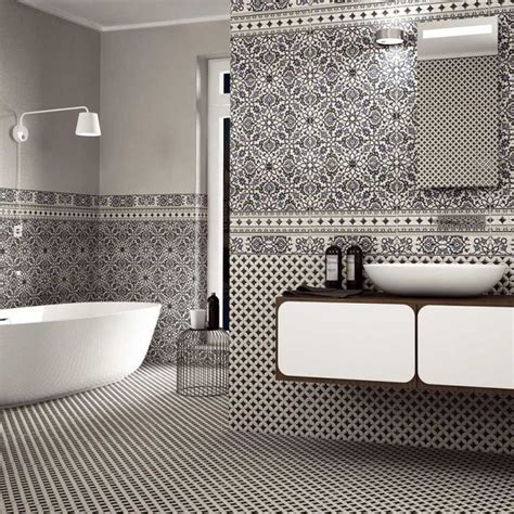 orly black and white patterned tiles 163 21 59 per sq m