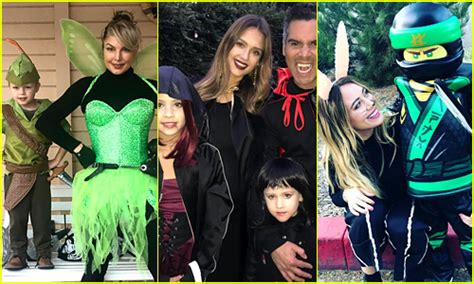 39 Celebrities & Their Kids Dress Up For Halloween 2017