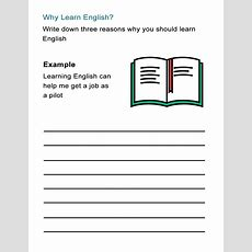 Why Learn English? Worksheet On The Benefits Of Learning English  All Esl