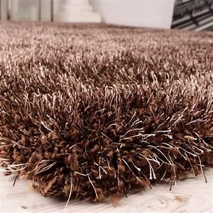 Shaggy Hochflor Teppich : shaggy teppich hochflor langflor leicht meliert qualitativ u preiswert braun alle teppiche ~ Markanthonyermac.com Haus und Dekorationen