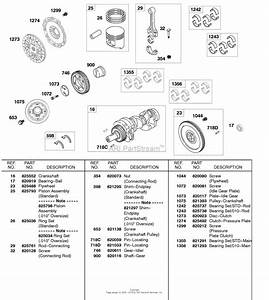 Briggs And Stratton 58e447 Rings  Flywheel  Clutch