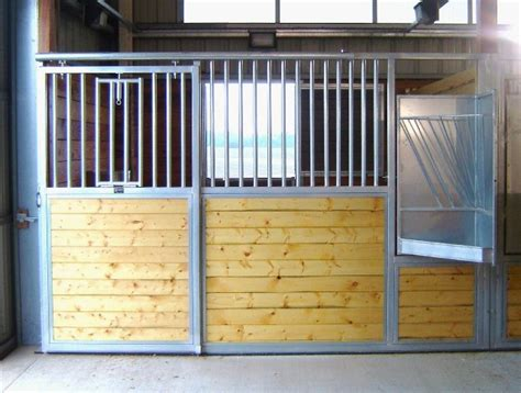 corrals stalls fencing doors horse stalls equine equipment steel galvanized