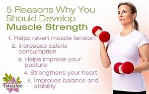 5 Reasons Why You Should Develop Muscle Strength