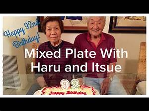 Mixed Plate With Haru and Itsue: Happy 92nd Birthday ...