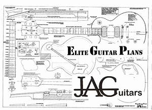 Plans To Build A Left Hand Gibson Les Paul Guitar