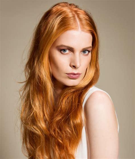Haarfarbentrend Rote Haare  Bilder Madamede