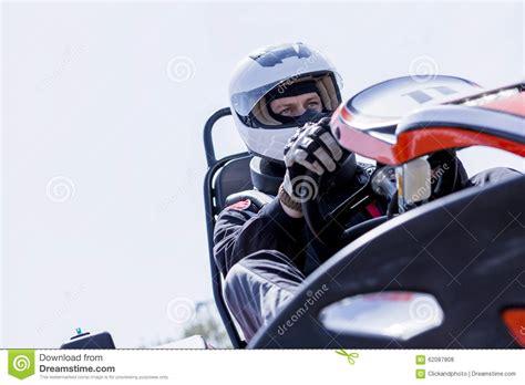 Starting Line Race Car Stock Photos