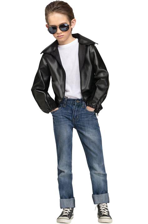 T-Bird Gang Child Jacket - PureCostumes.com