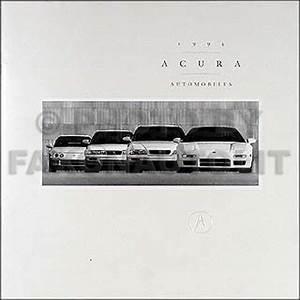 1994 Acura Integra Electrical Troubleshooting Manual Original