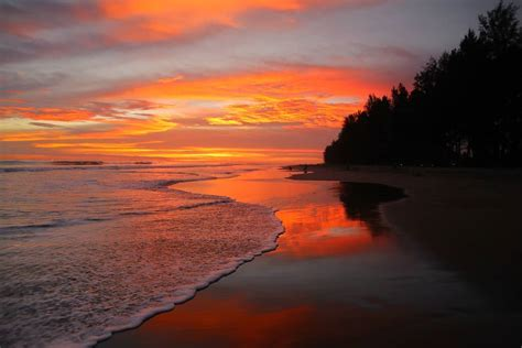 gambar pantai pasir jambak kota padang letak alamat