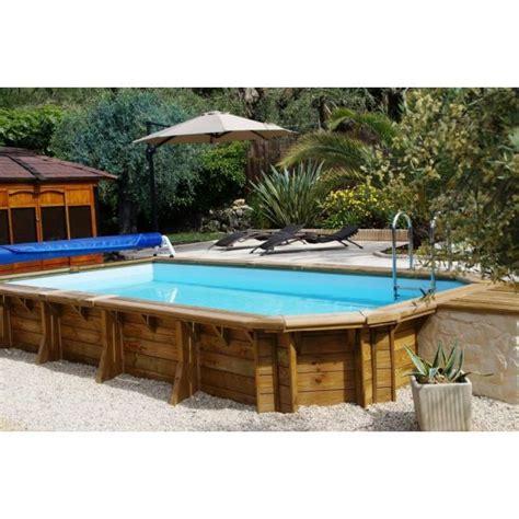 piscine bois enterree rectangulaire piscine bois difloisirs 224 sulpice st sulpice pisciniste tarn 81