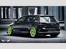 Volkswagen Golf GTI MK7 + Llantas mbDESIGN LV1