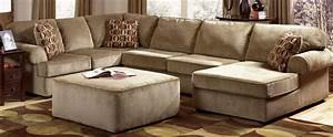 20 best ideas ashley furniture brown corduroy sectional With ashley large sectional sofa