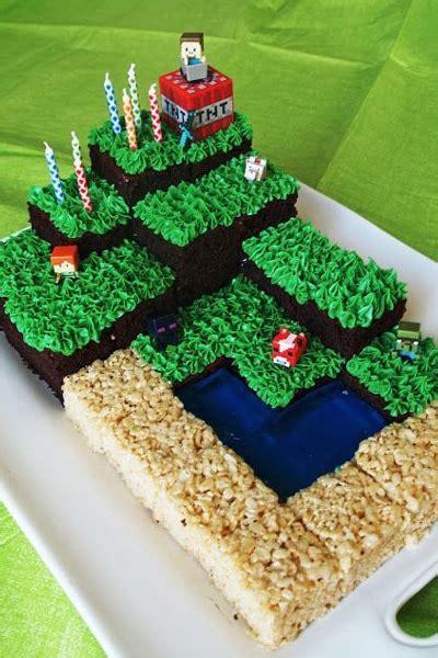 amazing minecraft birthday cakes pretty  party