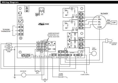 Wiring Diagram How To Make And Use Diagram by Hvac Installing Honeywell Rth9580wf On Icm280 Furnace