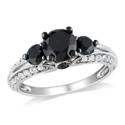 and white gold engagement rings white gold black white engagement ring engagement rings review