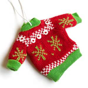 new in the store tacky sweater ornament the sweater shop