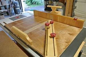 Ultimate Crosscut Sled - WoodWorking Projects & Plans