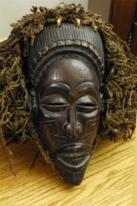 Pwo mask from the Congo – Masks of the World